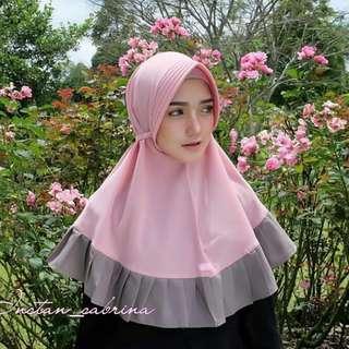 VGC - 0318 - Kerudung Hijab Instant Sabrina