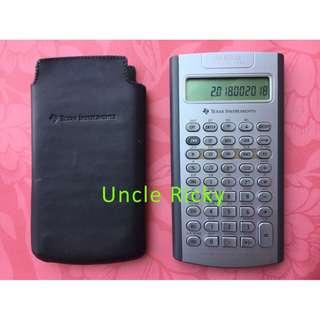 Texas Instruments BA II Plus Professional 專業金融財務 計算機