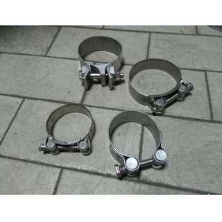 尾飾管白鐵管束 排氣管夾 喉箍 管束 束環 不銹鋼管夾