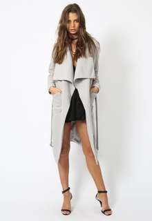 Lioness New York Minute Coat Grey