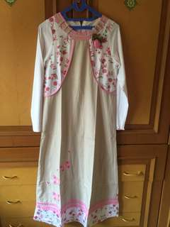 #MakinTebel Preloved Gamis anak