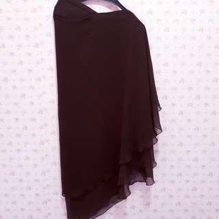 Khimar instan / jilbab panjang