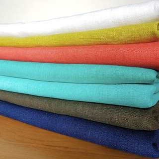 Linen Fabric ( All Colours avail)