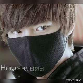 全新 城市獵人 李敏鎬 同款 韓風  活性碳口罩 囗罩 電單車 防塵
