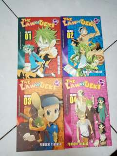 The Law of Ueki Plus Comics