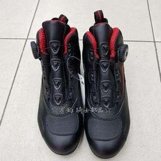 🚚 美國AUGI時尚車靴 AU6 Urban 車靴 皮革車靴 休閒短車靴 透氣車靴 買就加送手套 潮牌流行  黑色