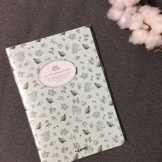 BNIP wildflowers notebook