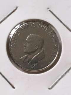 梵蒂岡教宗若望保祿二世50里拉硬幣
