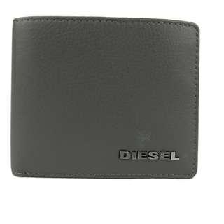 Diesel Men Wallet (100% Original / REAL) 現貨goods in stock X01263-PS777-T8081  灰色 Grey