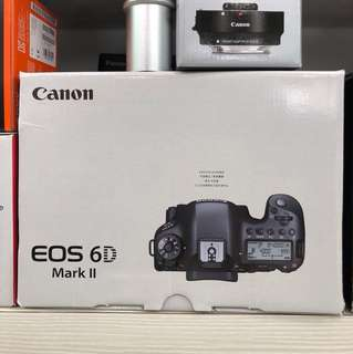 Canon EOS 6D II Camera Body