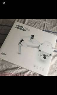 DJI MAVIC PRO ALPINE WHITE COMBO (NEVER OPENED)