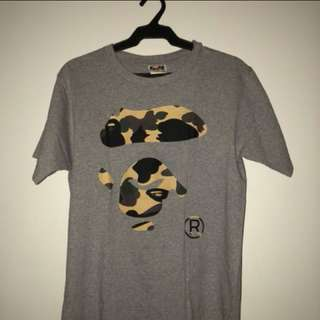 Bathing Ape (Bape) Grey Shirt