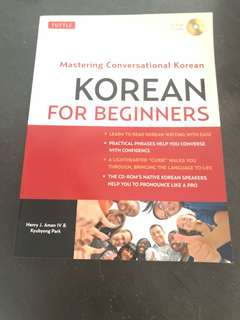 Tuttle Korean for Beginners