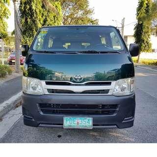 Toyota Hiace 2011 Commuter