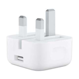Apple 插頭 5W USB Power Adapter (Folding Pins)