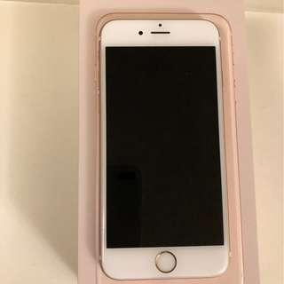 iPhone 6s Rose Gold -unlocked 32gb