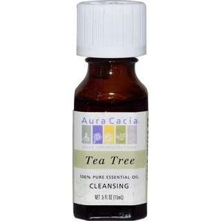 Aura cacia tea tree oil