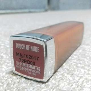 Maybelline Powder Matte Lipstick Touch of Nude