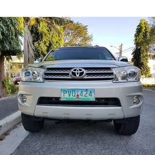 Toyota Fortuner 2011 G Gas Automatic Casa Maintained