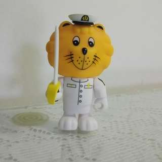 🆕 RSN Singa Lion Navy Officer - Captain in uniform and sword