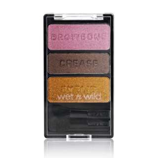<FREE DELIVERY> Wet n Wild USA E334 I'm Getting Sunburned Bronze Pink Smokey Triple Quad Eyeshadow Palette