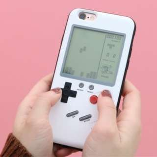 iPhone 7Plus GameBoy 手機殼 ﹙白色﹚