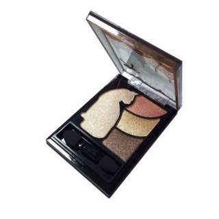 <FREE DELIVERY> Brigette Kate Japan Flawless Shimmer Kitty Cat Princess Pearl Eyeshadow Quad Palette