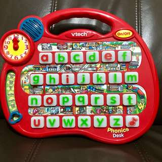 Vtech phonics alphabetical