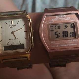 RUSH!!!Casio watch