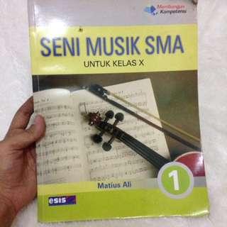 Buku seni musik SMA X