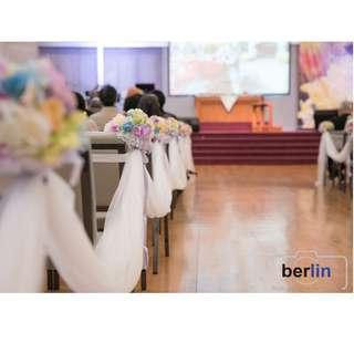 全日婚禮攝影及攝錄服務(2P+1V)