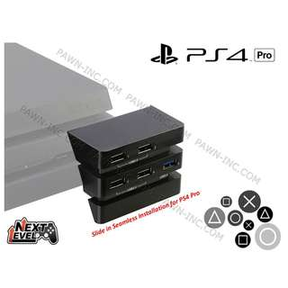 SONY PlayStation PS4 Pro High Speed USB 3.1 Multi Expansion Hub