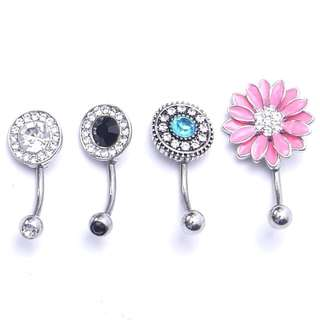 185-Navel Belly Button Piercing