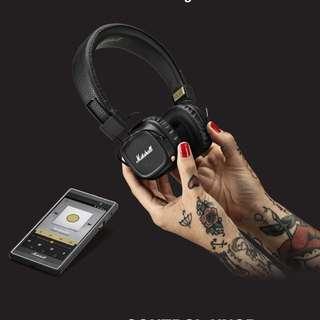 MARSHALL major 2 Bluetooth headphone
