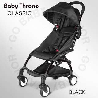 BABY THRONE CLASSIC BLACK FRAME - BLACK