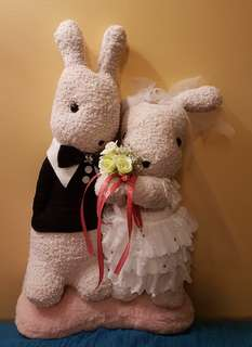 Wedding bunnies,  wedding toy