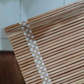Tirai Bambu - Chic Blind - Kerai bambu