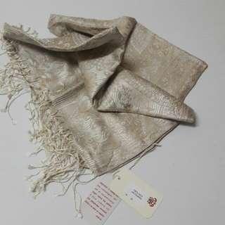 Pashma Silk Jacquard Shawls/Pashmina