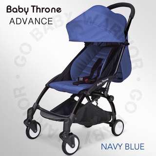 BABY THRONE ADVANCE BLACK FRAME - NAVY BLUE