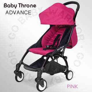 BABY THRONE ADVANCE BLACK FRAME - PINK