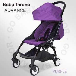 BABY THRONE ADVANCE BLACK FRAME - PURPLE