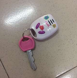 Barbie Battery Operated Car Key