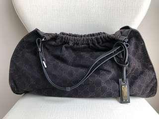 DROP SALE - Authentic Gucci signature canvas mix leather