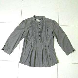 Esprit grey blouse XS