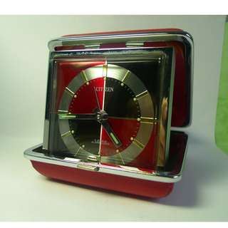 Vintage Citizen travelling alarm , mechanical hand winding
