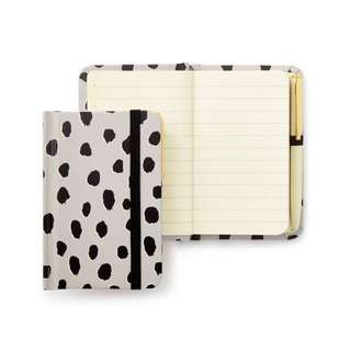kate spade new york Mini Notebook With Pen - Flamingo Dot 筆記本附筆