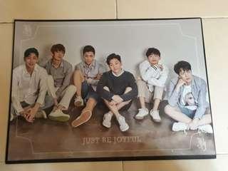 JBJ Debut Showcase & Concert Poster