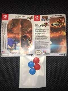 Sonic joy con skin Nintendo Switch