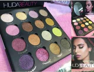Huda beaut allure palette (Inspired)