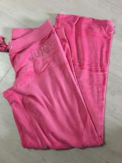 Nearly New Juicy couture pink size L